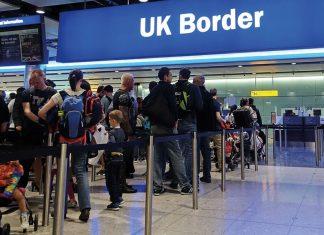 UK Border at Heathrow Airport