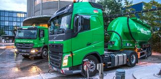 Cement trucks, HeidelbergCement AG