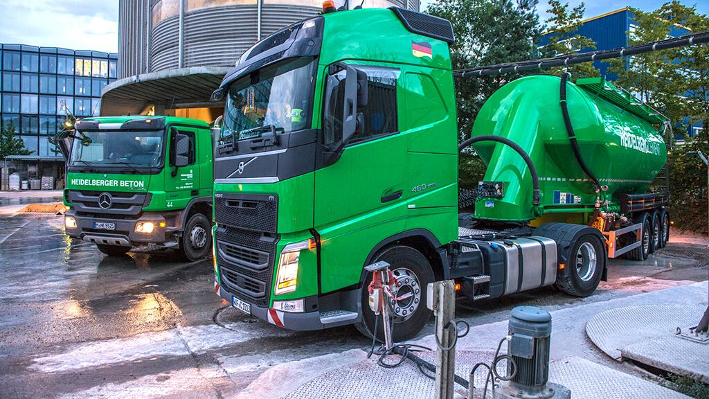Cement trucks, Heidelberg Cement AG