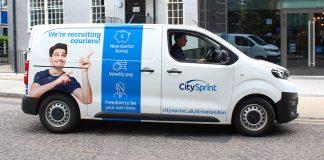 CitySprint van