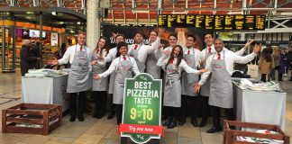 Elevate Staffing Pizza Promotion