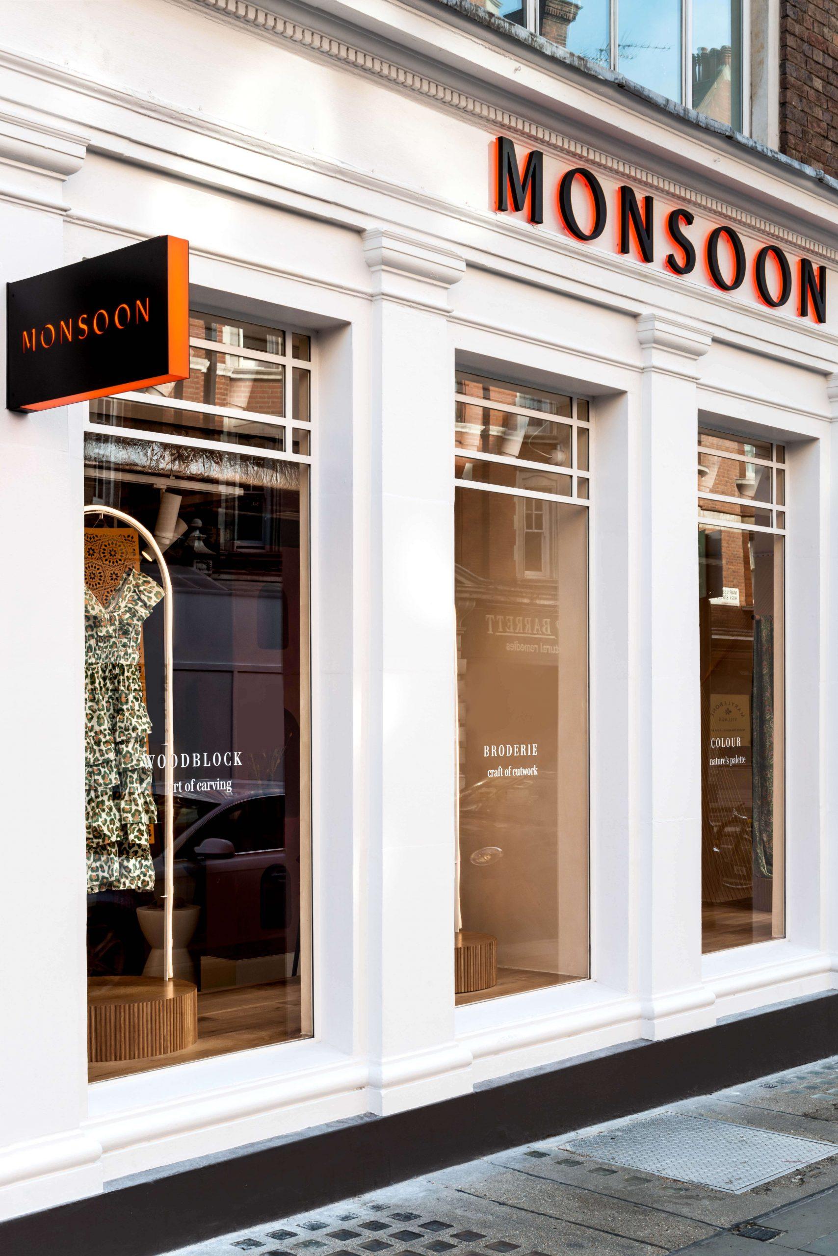 Monsoon shop exterior