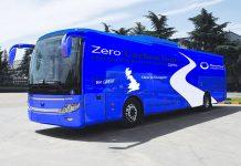 Planet Mark electric battle bus