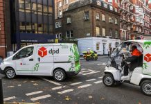 DPD Group electric vehicles
