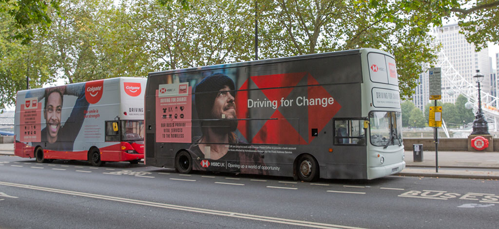 Driving For Change buses