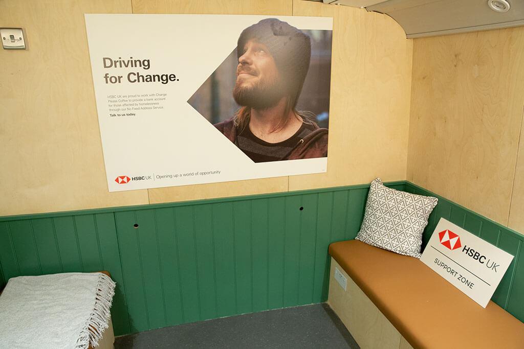 HSBC advice for homeless people