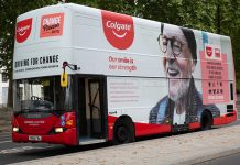 Driving For Change bus